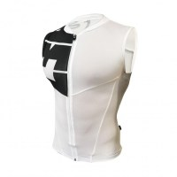 Z3R0D Hawi Sleeveless Jersey  White