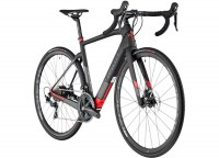 Wilier Triestina Cento1 Hybrid (L:520mm)  A13 Black|Red|Matt