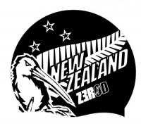 Z3R0D National Pride Swim Cap  New Zealand