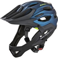 Alpina-Sports King Carapax Darkblue-Neon (52-57cm)