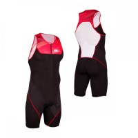 Z3R0D Start Trisuit Man Front Zip  red