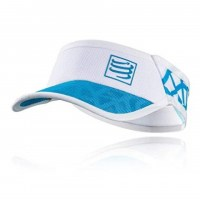 CompresSport Spiderweb Ultralight Visor  white/blue
