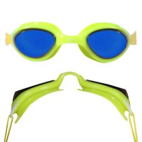 Blueseventy Flow Mirror Goggle yellow|blue