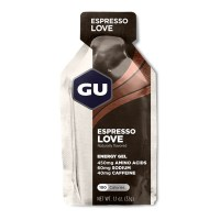 GU Energy Gel 32g 60mg sod|w/caf  espresso love