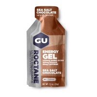 GU Energy Gel Roctane 32g 180mg sod|w/caf  sea salt chocolate