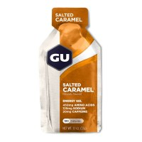 GU Energy Gel 32g 125mg sod|w/caf  salted caramel