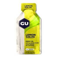 GU Energy Gel 32g 55mg sod  lemon sublime