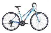 Ideal Crossmo Lady 700c Hydr.Disc (500mm) medium turqoise|blue|red