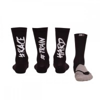 Z3R0D Triathlon Socks 39/42  Black