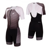 Z3R0D Racer TT Suit Woman  Black