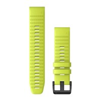 Garmin QuickFit 22 Silicone Band  Amp Yellow