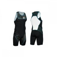 Z3R0D Start Trisuit Man Front Zip  petroleum blue