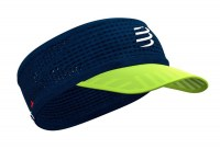 CompresSport Spiderweb Headband  blue lime