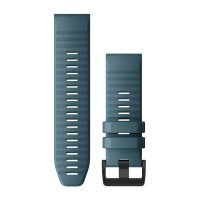 Garmin QuickFit 26 Watch Band  Lakeside Blue silicone